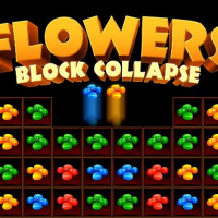 Flowers Blocks Collapse Online