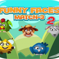 Funny Faces Match3 Online